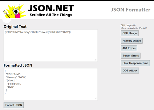 jsonformat