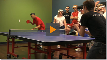Now let's all get drunk and play ping pong!